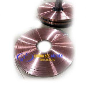Băng đồng tiếp địa 25x3mm, Đồng đỏ