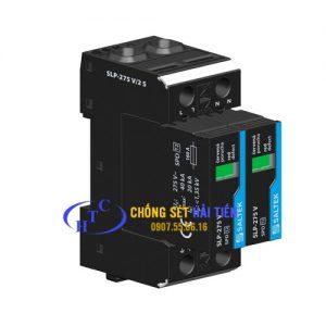 Chống Sét Lan Truyền Đường Nguồn 1 Pha SALTEK SLP-275V/1(S)+1