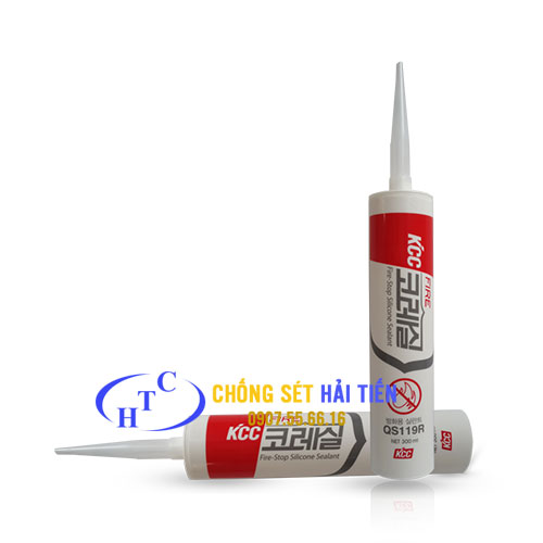 KEO SILICONE CHỐNG CHÁY SELSIL